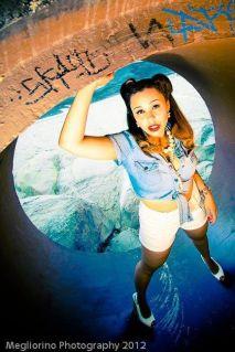Sarah Wong Beauty Artistry Rae Hollywood John Megliorino pinup inspired